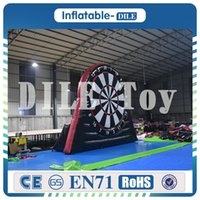 Wholesale Inflatable Boards - Free shipping to door! 4m 13ft PVC inflatable soccer darts,inflatable soccer dart board for sale