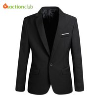 4xl anzüge blazer großhandel-Großhandel-Neue Ankunft Männer Anzug Jacke Casaco Terno Masculino Blazer Strickjacke Jaqueta Hochzeitsanzug Jacke Männer Größe S-6XL Super Plus Size