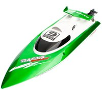 Wholesale Electric Boat Remote Control - USA Free Shipping Wireless Remote Control RC Speed Boat High Performance Boat Toy RC Boat High Speed Racing Boat Kid's Toys 14005032