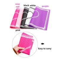 Wholesale Silicon Lace Mat - 5colors New ABS Silicon Lace Dot Heart Nail Art Table Mat Pad Manicure Clean Foldable Washable hand pillow Arm Rest Nail Tools 160721#