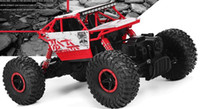 Compra 4x4 Rc-Lynrc RC Auto 4WD 2,4 GHz rock Crawlers Rally arrampicata auto 4x4 Doppia Motors Bigfoot modello dell'automobile telecomando Off-Road Veicolo del giocattolo