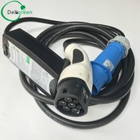 Wholesale Wall Charging Station - 62196 European EV charger 16A 32A type 2 with US EU wall inlet ,EV charger,electric vehicle charging station portable charger