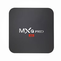 Wholesale C Media Player - MX2 MXQ PRO Quad Core Android TV BOX MXQPRO S905W S905X With Customized KD 17.4 TV Box Fully Loaded 4K Media Player