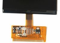 lcd vdo, audi'i göster toptan satış-2 ADET Ücretsiz Nakliye Için Yüksek kalite Yeni geliş Ücretsiz Kargo LCD Ekran AUDI A3 A4 A6 S3 S4 S6 VW VDO LCD küme dashboard için VDO piksel