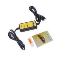 аудио-адаптер toyota оптовых-Профессиональный авто Автомобиль USB Aux-в кабель-адаптер MP3-плеер радио интерфейс для Toyota Camry/Corolla/Matrix 2*6Pin аудио кабель AUX