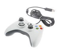 xbox slim al por mayor-Alta calidad USB con cable Juego xbox 360 Controlador Gamepad Joypad Joystick para Xbox 360 Slim Accesorio PC Portátil Computadora portátil Embalaje al por menor