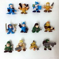Wholesale Toy Soldier Wholesalers - The soldier boy Mini Action Figures Gashapon Gachapon Capsule Toys Mini Figuress Cute for children Christmas Gifts