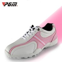 Wholesale Massage Fix - 2016 Promotion Real Breathable Massage Women Rubber PGM Golf Shoes Female Models Sport Shoe Soles Fixed Nail Waterproof Sports 35-39