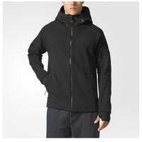 xxl hırka erkek toptan satış-YENI Alman marka kazak erkekler ve kadınlar sokak moda hoodies hırka çalışan Egzersiz Fitness Aşınma Giyim Z.N.E. DUO HOODIE