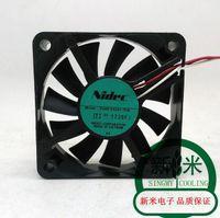 Original D06T-12PS2 12V 0.25A 6CM 6025 double ball cooling fan