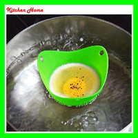 Egg Poachers speed pod - DHL Free Silicone Kitchen Egg Cooker Poacher Pod Egg Boiler Steamer Non toxic Egg Colorful Cooking Tools