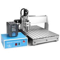 Wholesale Cnc Y - USB CNC ROUTER ENGRAVER engraving machine CUTTER 3 AXIS 6040T Precision CNC Router USB Engraver Machine Drilling Milling 6040 X Y Z 3-Axises
