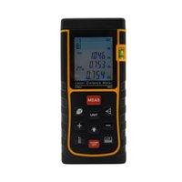 Wholesale Digital Laser Distance Measurer - Wholesale-SW-E80 Laser Range Finder 80M 262ft LCD Display Laser Distance Meter Digital Range Finder Laser Tape Measurer