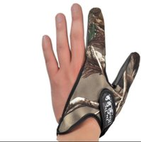 Wholesale 10 fingers protection waterdrop wheel casting rods professional no slip fishing gloves camouflage free size