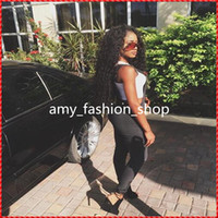 Wholesale Kinky Straight Wig Shedding - Hot Queen Nice Fashion Hair 100% Brazilian Human Virgin Hair Kinky Curly Wave Remy Hair Full Lace Wig Natural Black No Shedding 6A Grade
