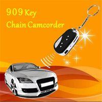 Wholesale Spy Car Security Camera - 720P Mini Car Key Chain Spy hidden Cam Camera DV DVR Video Audio Recorder Camcorder HD Portable Security Camcorder Nanny Camera