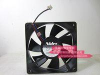 Wholesale fan 12v 12cm resale online - Original Nidec D12T PS14 cm MM V A mute dual ball cooling fan