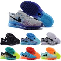 Wholesale Cheap Shoes Line - Wholesale 2014 Running Shoes Men 100% Original Running Shoes Cheap Fly Line 2016 Best Cheap Sports Shoes Free Shipping Size 7-11