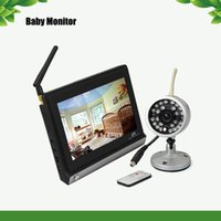 Wholesale Analog Lcd Monitor Inch - Monitor Guardian - Night Vision with 7 Inch LCD Widescreen Wireless Baby Monitor KA2BM03