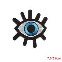 Wholesale Eye Jeans - Evil Eye Illuminati Embroidered Sew On Iron On Shirt Bag Jeans Badge Patch