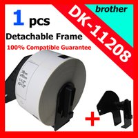 Wholesale Dk Labels - Wholesale-20x Rolls Brother Compatible Labels dK-11208,38x 90mm,400 labels per roll,Thermal paper Sticker,dk 11208 ,dk 1208,address label