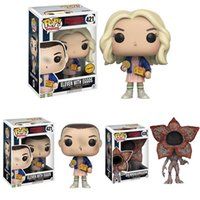 Wholesale Good Things - Funko POP stranger things Action Figures 10cm PVC cartoon Model Decoration for children Gifts C3334