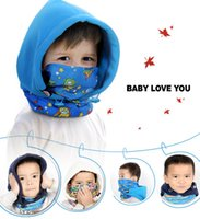 Wholesale Wholesale Hurricane Lamps - Kid's Fleece Balaclava Face Mask Neck Hood Hat Cap Cosplay Child Winter Warmers Cold-proof Hurricane Lamp