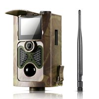 Wholesale Infrared Trail Scouting Camera Hunting - [2017 New] HC550G Hunting Trail Camera 3G HD 16MP 1080P Video Night Vision MMS GPRS Scouting Infrared Game HC-550G Hunter Cam