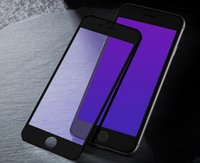 для iphone X Purple Ray Screen Protector Закаленное стекло Full Coverage Cover Film Purple Light Eyecare Resistance для iphone 6 7 8 plus