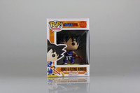 jamila funko pop Dragon Ball Son Goku Pvc Figurines 13 cm Dragon Ball Z Collection Modèle Jouet Poupée Figuras Dbz Dragon Ball Majin Buu Pvc