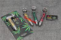 Wholesale Smoking Pipes Uk - free shipping USA UK Germany metal pipes Jamaican reggae tobacco smoking pipe aluminum alloy herb leaf cigarette holder vapor smoker gift