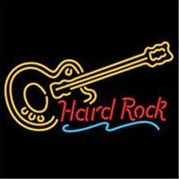 Wholesale Image Guitar - Mouse over image to zoom New Hard ROCK LIVE MUSIC Guitar Neon Light Sign Display Beer Bar Pub Club R15