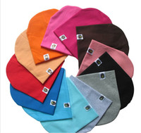 Wholesale Cute Spring Hat For Baby - 10 pcs 2016 New Lovely Cute baby beanie hat cap for boy girl many colors candy colors baby hats girls boys caps
