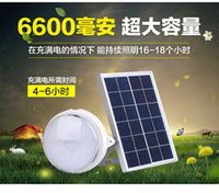 Wholesale Ceiling Lamp Outdoor - Top Fashion Sale Outdoor Solar Lights Super Bright Indoor Home Lighting Emergency Courtyard Landscape Lamp Remote Control Ceiling Wall
