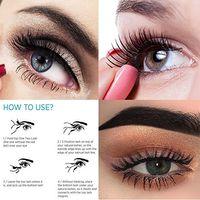 Wholesale Eye Doubling Glue - 3D Double Magnetic Eyelashes Natural Beauty No Glue Reusable Fake Eye Lashes Extension Handmade Eye Beauty Makeup Tool