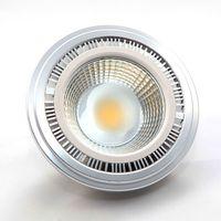Wholesale Fedex Shipping Materials - Ar111 COB LED Bulbs Light 12W E27 GU10 G53 LED Grill Lamp AC100-240V Aluminum Material ES111 DHL Fedex Free Shipping