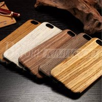 Wholesale Iphone Wooden Cases For Sale - Real Wooden Case For iPhone 6 6s iPhone 6 plus 6s plus New Design Best Quality Hot Sale