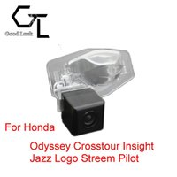 For Honda Odyssey Crosstour Insight Jazz Logo Streem Pilot Wireless Car Auto Reverse Backup CCD HD Rear View Camera Parking Assistance