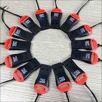 Wholesale Usb Wholesale China 128gb - USB TF Card Reader USB 2.0 Micro SD T-Flash TF M2 Memory Card Reader High Speed Adapter for 4gb 8gb 16gb 32gb 64gb 128gb Micro SD Card MQ500