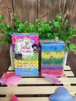 Wholesale Whitening Soap Sale - Hot sale ! Gluta Whitening Soap rainbow soap OMO White Mix Fruits Color Alpha Arbutin Anti Dark Spot free shipping