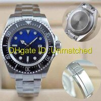 Montres homme marque de luxe SEA-DWELLER DEEP Ceramic Bezel Stanless Steel 116660 Automatic Mechanical High Quality Business Montres pour hommes occasionnels.
