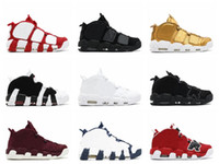 Wholesale 2017 Pippen More Uptempo Basketball Shoes Colors High Quality Mens Shoe Athletic Sport Shoes Sneakers Basketball Sneakers With Box