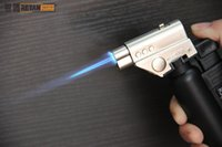 Wholesale Titanium Lighters - Jet Butane Torch Lighters Flame Gun for heat the glass nail or titanium nail