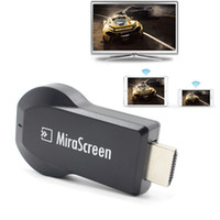 Mirascreen 2.4G Wifi Display Dongle HD Media Player TV Stick Miracast DLNA Airplay Wireless Screen Mirroring Adapter