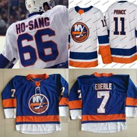 66 Josh Ho-Sang 2017-2018 Stagione New York Islanders Jersey 27 Anders Lee 53 Casey Cizikas 72 Anthony Beauvillier 91 John Tavares Maglie