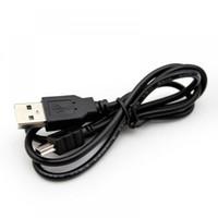 kablo usb uc e6 toptan satış-2000 adet 80 cm Şarj Veri Kablosu Mini USB 2.0 A Erkek Mini 5 Pin B Adaptörü MP3 Mp4 Çalar Dijital Kamera telefon Için yüksek kalite