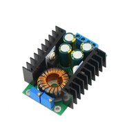 Wholesale Led Driver Cv - Wholesale-Free Shipping CC CV Adjustable Power Module DC-DC 12A Step-down 24V To 12V Led Display Driver Buck Converter Module Hot Selling