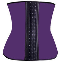 Wholesale latex waist training sports corset for sale - Group buy Deportiva sport latex waist cincher trainer hot body shaper fast weight loss girdle slimming belt waist training corsets