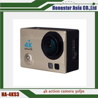 Wholesale 4KS3 Ultra k action camera full hd mini sports camera DV recorder waterproof M with fish eye lens