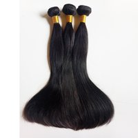 Wholesale Natural Virgin Indian Remy Hair - Beauty sexy Indian remy Hair weft Natural Color and Black #1 #1b Full cuticle aligned Unprocessed Brazilian virgin human Hair in stock